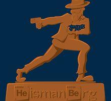 Heismanberg by TroytleArt