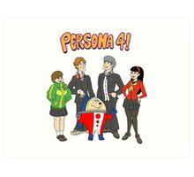 Persona 4 Scooby Doo Art Print