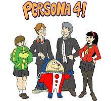 Persona 4 Scooby Doo by HotJosh