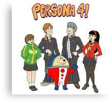 Persona 4 Scooby Doo Canvas Print