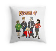 Persona 4 Scooby Doo Throw Pillow