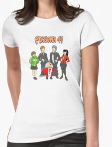 Persona 4 Scooby Doo Womens Fitted T-Shirt