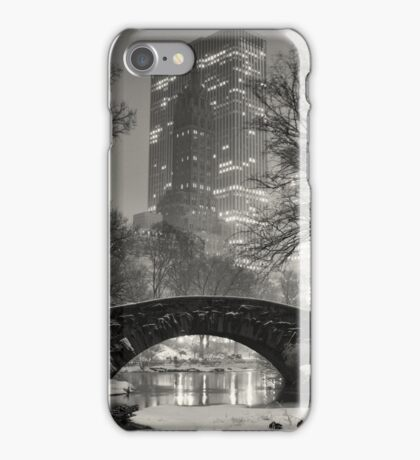 Gapstow Bridge, Study 2 iPhone Case/Skin