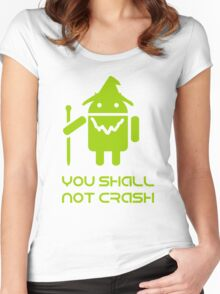 lord of the droids Women's Fitted Scoop T-Shirt