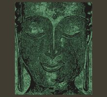 """Buddha of Compassion 1 - Tshirt 3"" by Kevin J Cooper"
