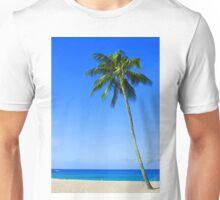 Palm Tree, Waimea Bay, Oahu, Hawaii Unisex T-Shirt