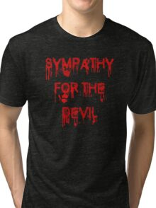 Sympathy for the Devil Tri-blend T-Shirt