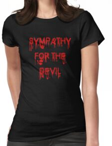 Sympathy for the Devil Womens Fitted T-Shirt