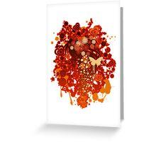 Floral_Flow Greeting Card