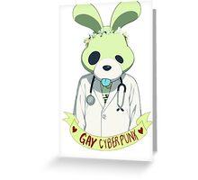 Noiz is a gay cyberpunk. Greeting Card