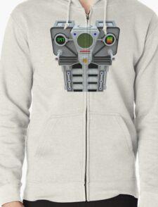 Take control robotic armour Zipped Hoodie
