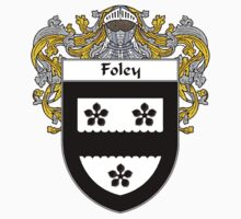 Foley Coat of Arms/Family Crest by William Martin