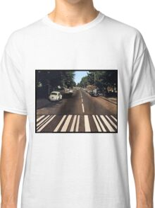 Blank Abbey road - no beatles Classic T-Shirt