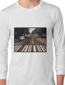 Blank Abbey road - no beatles Long Sleeve T-Shirt