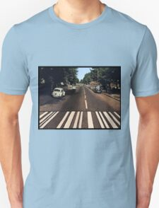 Blank Abbey road - no beatles Unisex T-Shirt