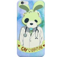 Noiz is a gay cyberpunk. iPhone Case/Skin