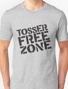 Tosser Free Zone Unisex T-Shirt