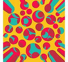 Psychedelic cheese Photographic Print