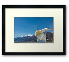 Wine bucket Framed Print