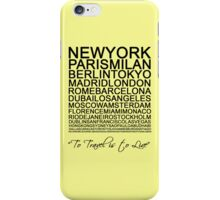Travelling is a state of mind #2 iPhone Case/Skin