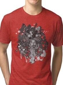 Floral_Flow Tri-blend T-Shirt