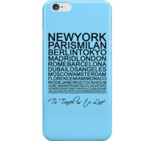 Travelling is a state of mind #4 iPhone Case/Skin