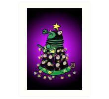 Christmas Dalek Art Print