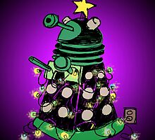 Christmas Dalek by plasticflame
