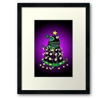 Christmas Dalek Framed Print