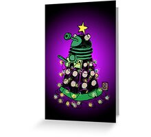 Christmas Dalek Greeting Card