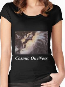 Cosmic OneNess - T Shirt & Hoodie Women's Fitted Scoop T-Shirt