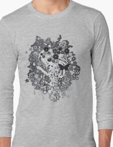 Floral_Flow Long Sleeve T-Shirt