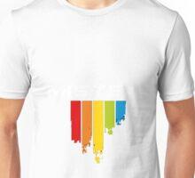 Mistex Color Drip Logo Tee Unisex T-Shirt
