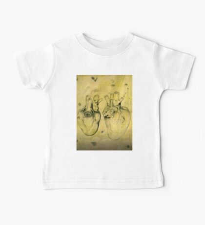 Anatomical study of human heart - Pen and ink  Baby Tee