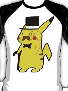Classy Pikachastache T-Shirt