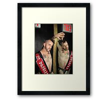 Mr Paddles 2013 Framed Print