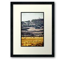 Plains of Israel Framed Print