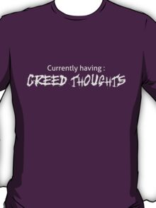 The Office - Creed Thoughts (Dark Colors) T-Shirt