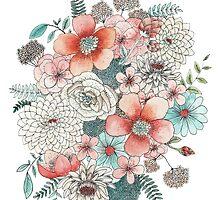 Floral Bouquet by hikomari