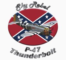 P-47 Thunderbolt Sky Rebel by hotcarshirts