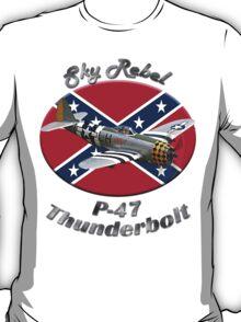 P-47 Thunderbolt Sky Rebel T-Shirt