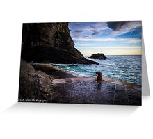 Vernazza's Sunset Greeting Card