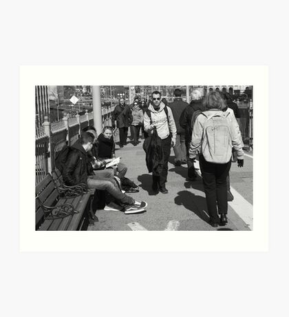 New York Street Photography 12 Art Print