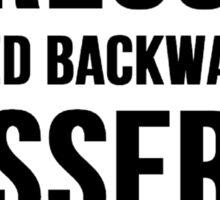 Stressed Spelled Backward Is Desserts Sticker