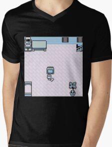 Back to where it began Mens V-Neck T-Shirt