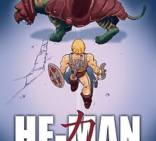 He-Man and the Masters of the Universe : Akira by thepeenpen