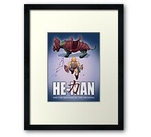 He-Man and the Masters of the Universe : Akira Framed Print