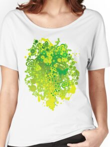 Floral_Flow Women's Relaxed Fit T-Shirt