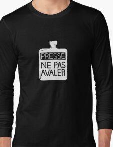 Presse Ne Pas Avaler - Thom Yorke Long Sleeve T-Shirt