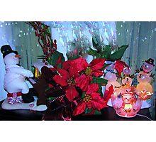 Christmas carols Photographic Print